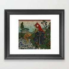 Haunt for Little Blind Fish Framed Art Print
