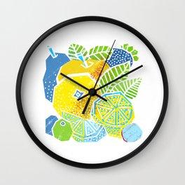 New Fruits Wall Clock