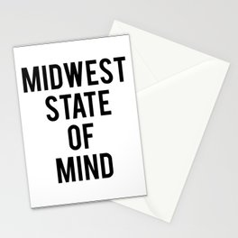MIDWEST STATE OF MIND Stationery Cards