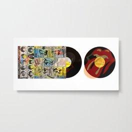 Rolling Stoned Metal Print