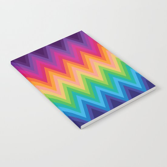 Zig Zag Chevron Pattern G291 Notebook