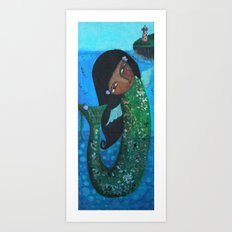 Mermaid Art Print