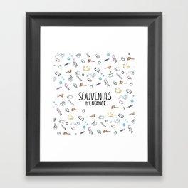 Souvenirs Framed Art Print