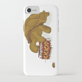 Roman turtle formation iPhone Case