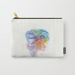 Eye of Horus Watercolor Illustration Carry-All Pouch