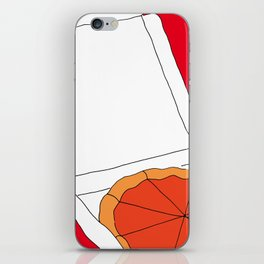 Hot Pizza Box iPhone Skin