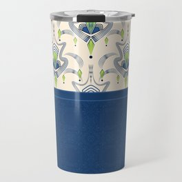 The combined pattern . Travel Mug