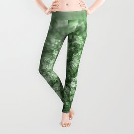 Green Diamonds Leggings