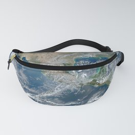 Planet Earth from Space Fanny Pack