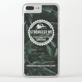 Strongest Me Green Clear iPhone Case