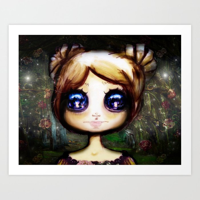 Gretel and the Witch Art Print