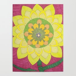 Flower of My Sun Poster