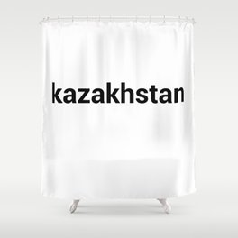 kazakhstan Shower Curtain