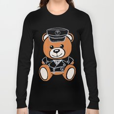 Leather Bear Moschino Long Sleeve T-shirt