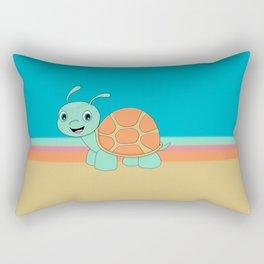 Meet Brysk the turtle Rectangular Pillow