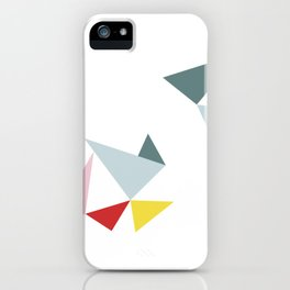 Triangles in the Sky iPhone Case