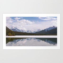 Spray Lakes Art Print