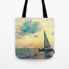Sailing Along Tote Bag