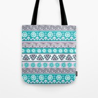 tribal Tote Bags featuring Tribal by Julscela
