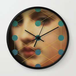 Her Stare Wall Clock