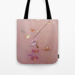Pink Bath Photoshoot Tote Bag