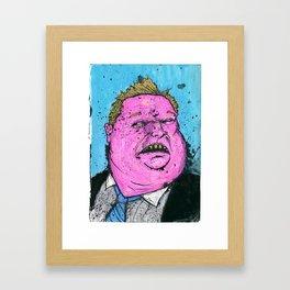 'Rofo Had A Bad Day' Framed Art Print