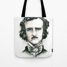 Edgar Allan Poe and Ravens Tote Bag