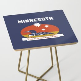 Minnesota - Redesigning The States Series Side Table