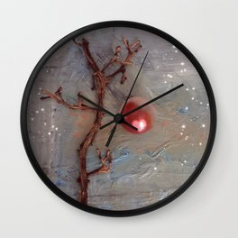 Love is Where You Find It Wall Clock