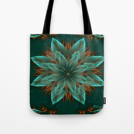 The flower of hope  Tote Bag