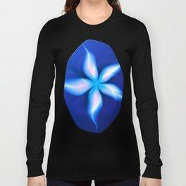 La Fleur Magique de la Sorcière Fractal Long Sleeve T-shirt