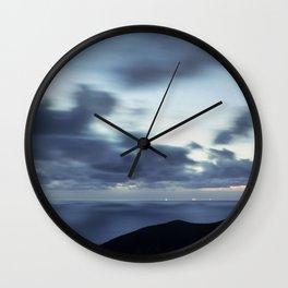 Pacific Ocean Long Exposure Wall Clock