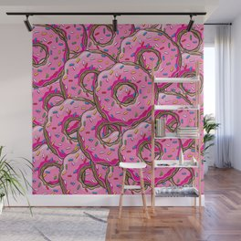 You can't buy happiness, but you can buy many donuts! Wall Mural