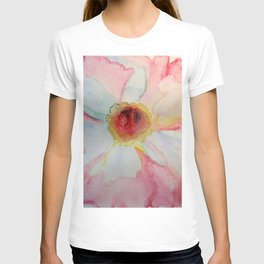 Camellia in Pink T-shirt
