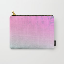 Concrete Flowers and Graffiti Carry-All Pouch