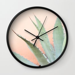 Agave Potatorum Wall Clock