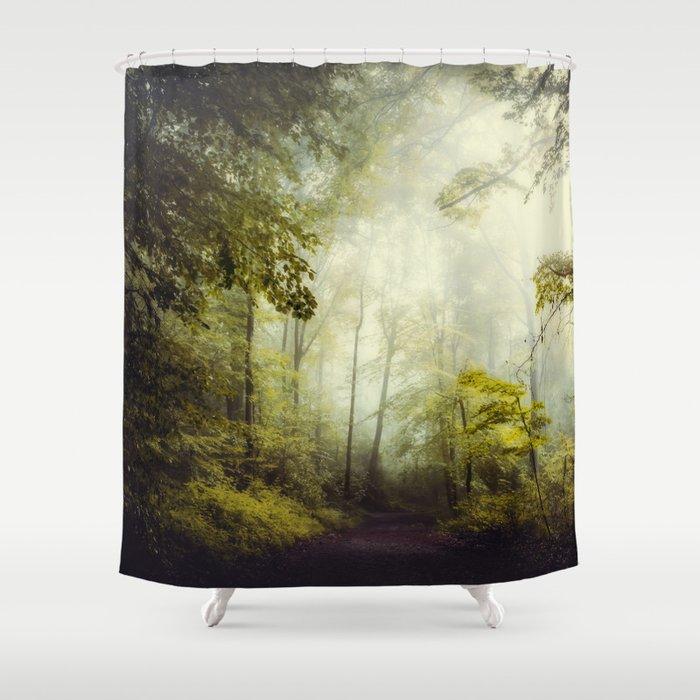Glorious Woods Shower Curtain By Dirkwuestenhagenimagery