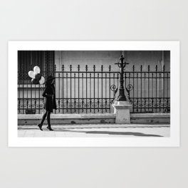 walking Art Print