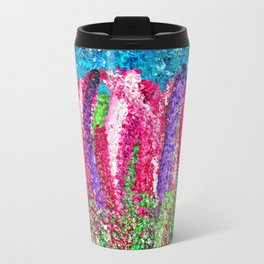 Nova Scotia Lupins (lupines) Travel Mug