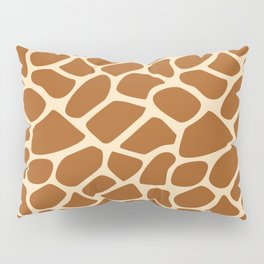 Giraffe Animal Print Pattern Pillow Sham