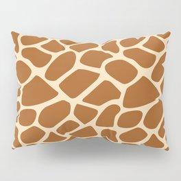 Giraffe Animal Print Pattern Pillow Sham