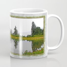 REFLECTIONS ON A PLACID MOUNTAIN LAKE Coffee Mug
