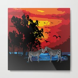 Safari Metal Print