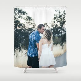 Luke and Alina Shower Curtain