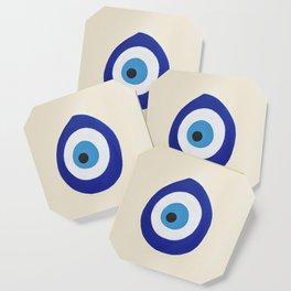 Blue Evil Eye Coaster