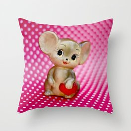 Mr. Mouse Throw Pillow