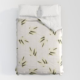 Mystical Quartz Crystal Pattern, Seamless Vector Repeat Texture Comforters