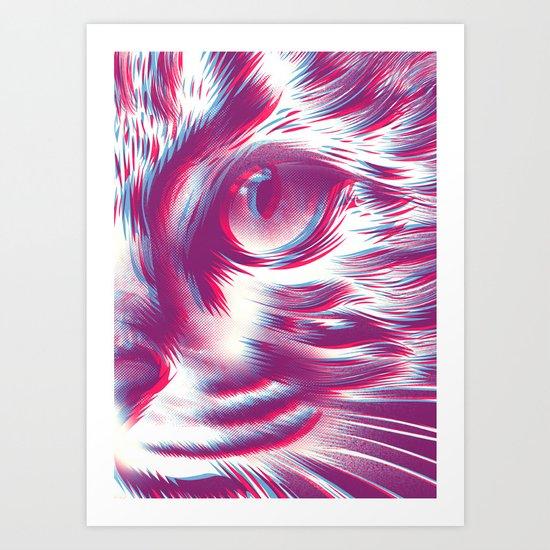 Cat 2D Art Print