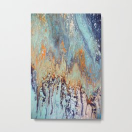 Tattered tapestry to restored life Metal Print