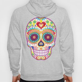 Sugar Skull Art (Luminesce) Hoody